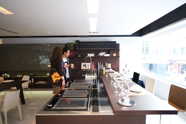 Wan chai design central part ii - Poliform showroom ...