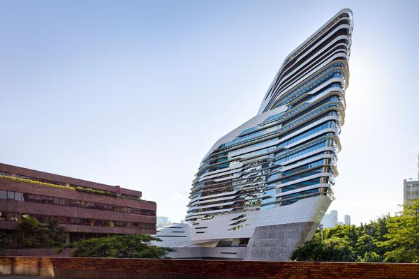 Jockey Club Innovation Tower By Zaha Hadid Indesignlive