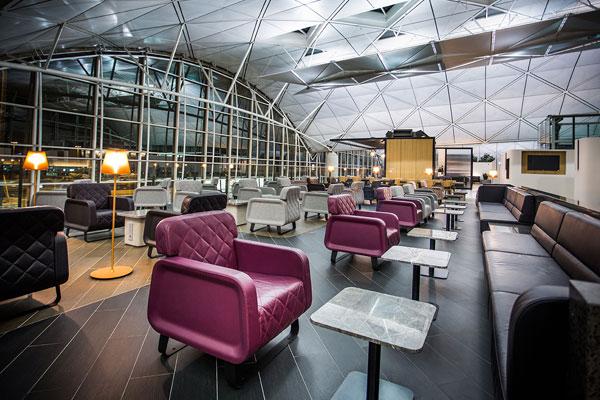 Qantas HK Lounge