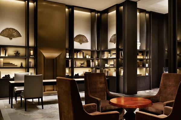Hotel Space Waldorf Astoria Beijing By Yabu Pushelberg Gold