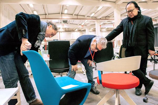 Professor Werner Aisslinger, Dr. Yuri Nazarov and Lam Leslie Lu