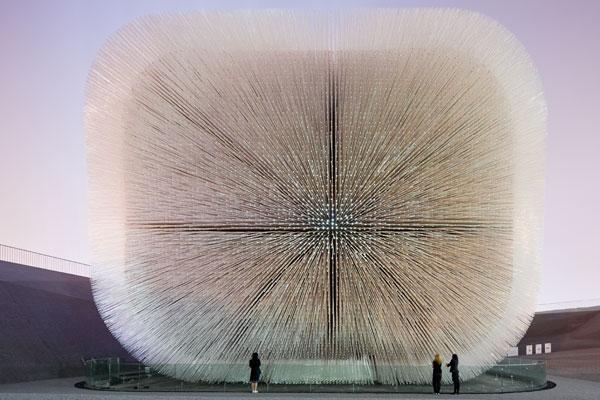 World Expo UK Pavilion Thomas Heatherwick