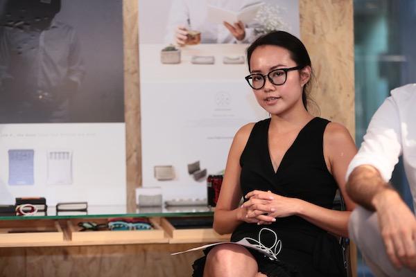 Kiesly Tsang at Design 1+1 launch