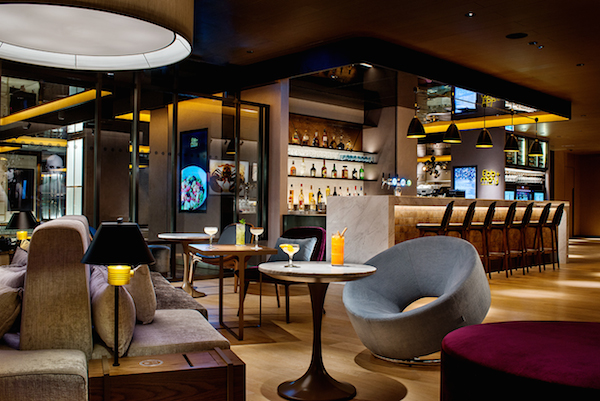 Ebb & Flow lounge at The Park Lane Hong Kong