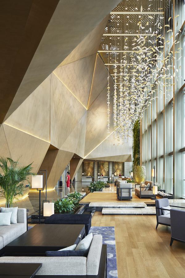 HBA lobby design