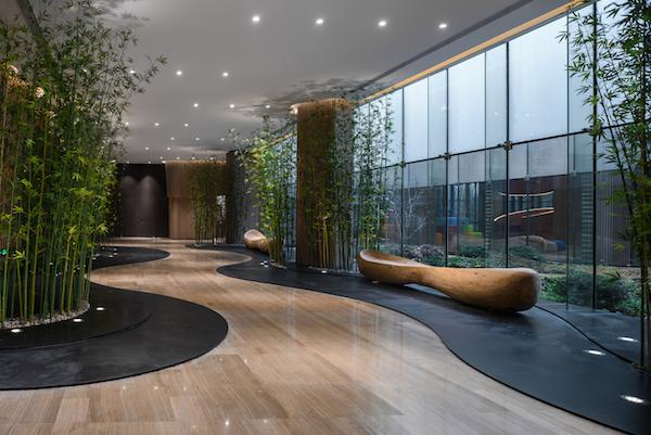 Cyrus Tang Foundation walkway