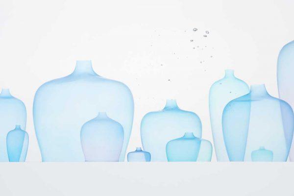 Jellyfish vase by Nendo