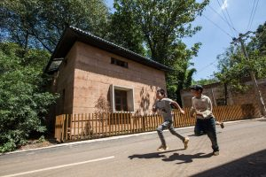 WAF 2017 World Building of the Year: Post-earthquake Reconstruction/Demonstration Project of Guangming Village (China) by The Chinese University of Hong Kong. Winner of the 'New and Old – Completed Buildings' category