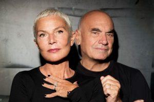 Doriana and Massimiliano Fuksas. Photo © (GIanmarco Chieregato) Courtesy Studio Fuksas