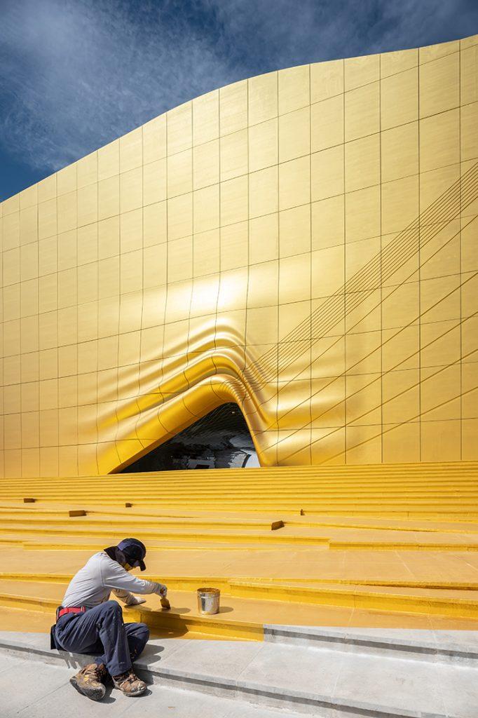 Paradise City MVRDV Ossip gold vertical
