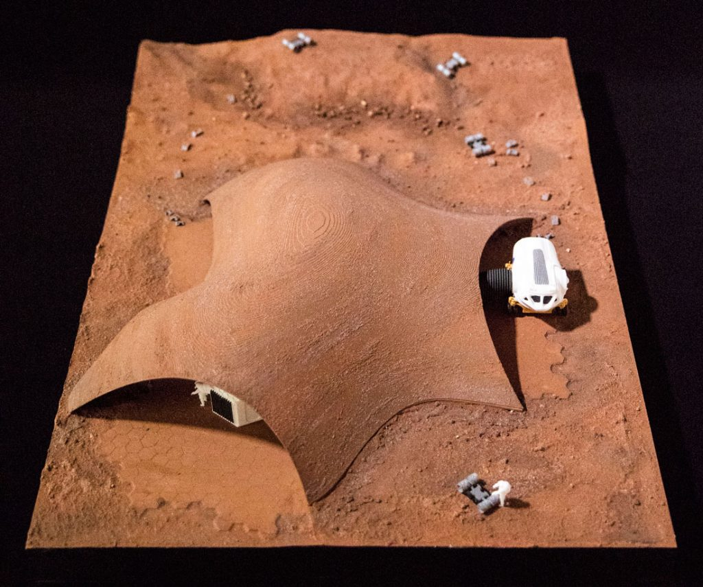 Xavier De Kestelier HASSELL NASA 3D Printed Model 3