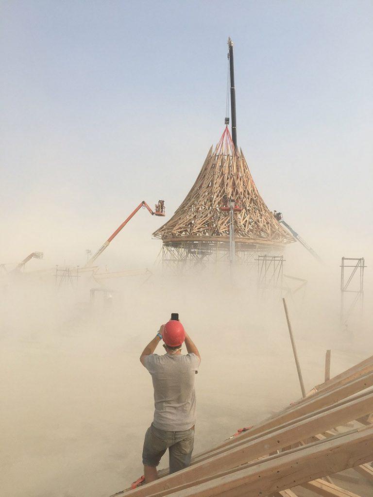 Burning Man Andros-Antonades