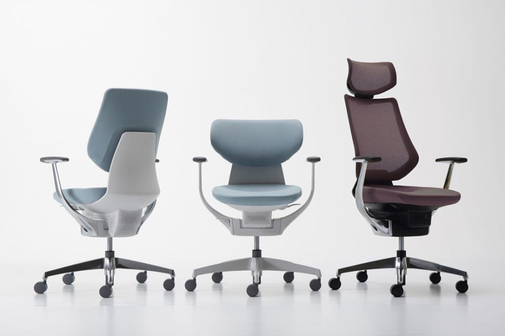 Orgatec task chairs Kokuyo ing