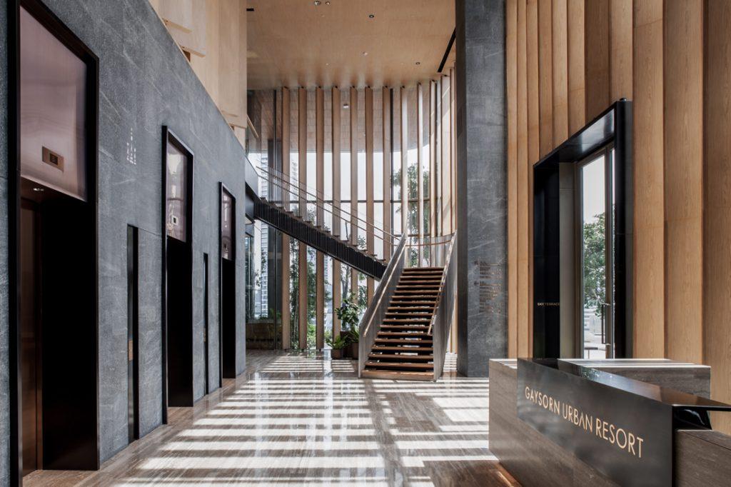 Gaysorn Urban Resort by CL3 Architects lobby