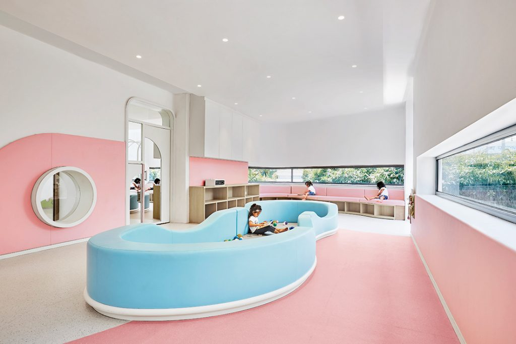 PAL Design Group SIS-PREP-Gurugram-seating-scape