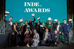 INDE.Awards Dinosaur Designs Trophy Gala Night