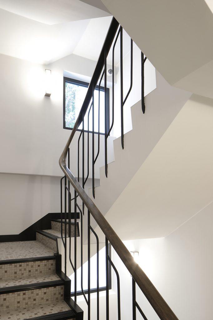 36 Gage Street 4N staircase