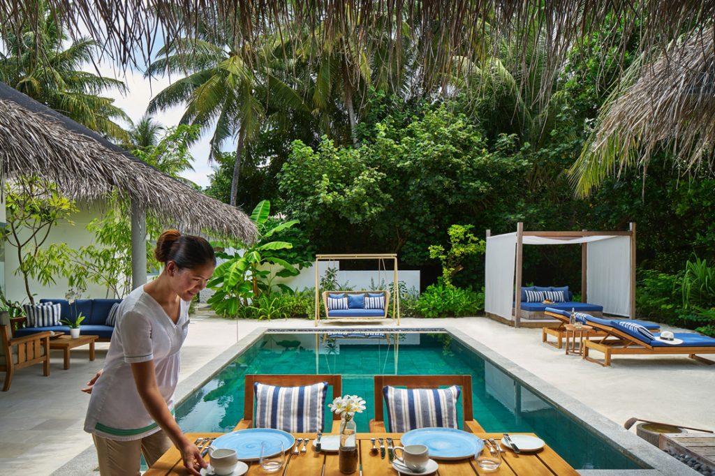 Beach Residence c Raffles Maldives Meradhoo