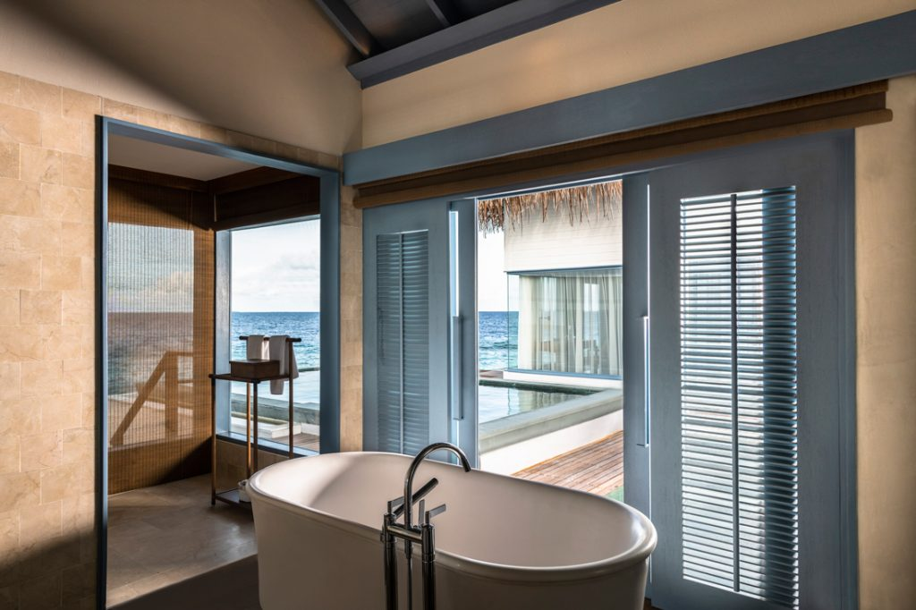 Over-water Bathroom c Raffles Maldives Meradhoo