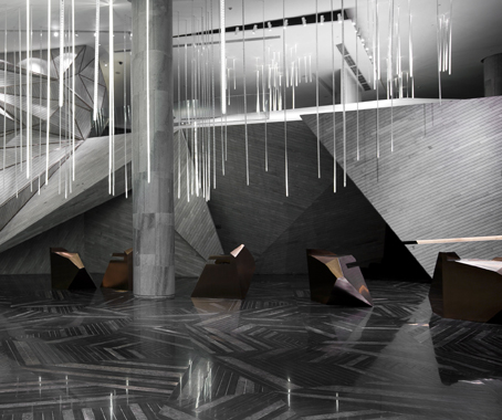 Chongqing Mountain City Sales Office By One Plus Partnership Limited Gold Award Installation And Exhibition Space Category
