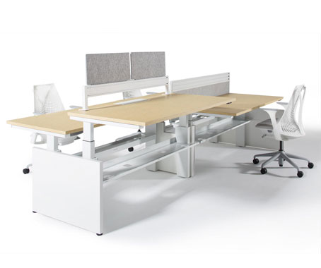 Herman Miller The Product Can Be Reconfigured And Adapted With Ease Where Intelligent Components Allow You To Create Diffe Layouts From Single Desks