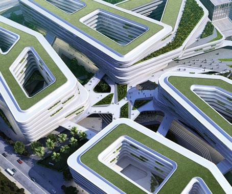 Reinventing architecture ben van berkel indesignlive for Interlocking architecture concept