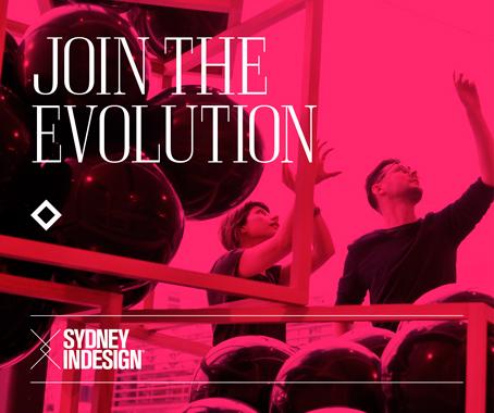 Sydney indesign join the evolution indesignlive for Experiential design sydney