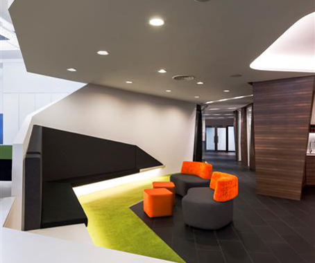 Watg and wimberly interiors office by m moser for Design agency singapore