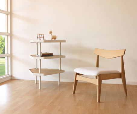 Hinikau0027s Torii Lounge Chair Takes Its Inspiration From The Simplicity And  Clean Lines Often Found In Japanese And Scandinavian Styles; The Bezier  Coffee ...