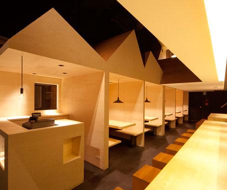 Best Asian Restaurant Interior Shyo Ryu Ken Japan By STILE