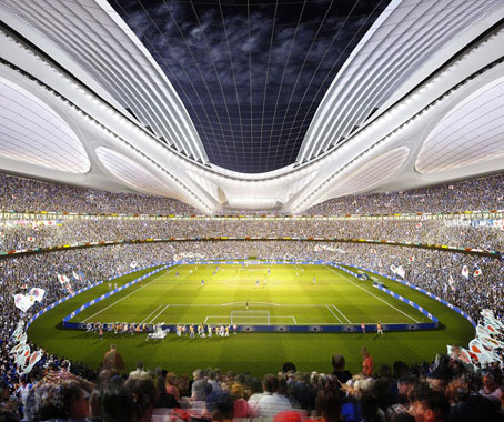 Zaha Hadid Designs For The Tokyo Olympics Indesignlive