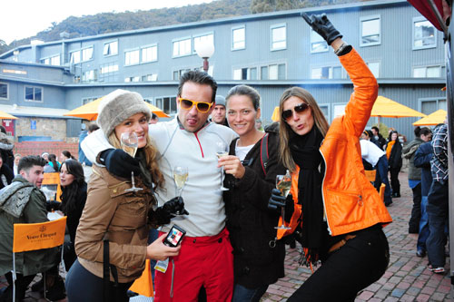 Clicquot In The Snow Indesignlive Singapore Daily