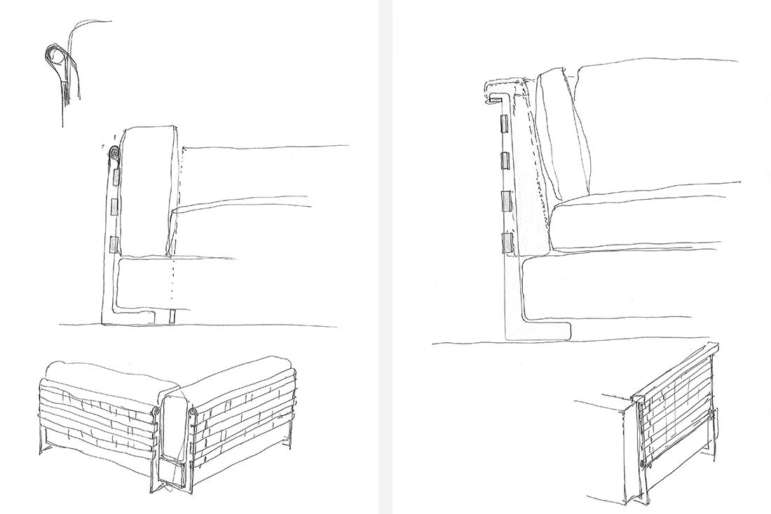 _Flexform_Cestone_Making-of_Cestone_Flexform_Antonio-Citteriors-drawings
