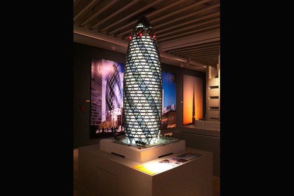 30 St Mary Axe is one of the firm's most prominent works
