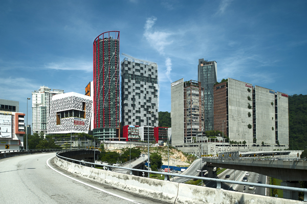Empire Damansara is a mixed-use development that includes a hotel, SOGO units, corporate offices, residences and a lifestyle 'village'