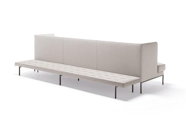 The back of Living Divani's Lipp sofa