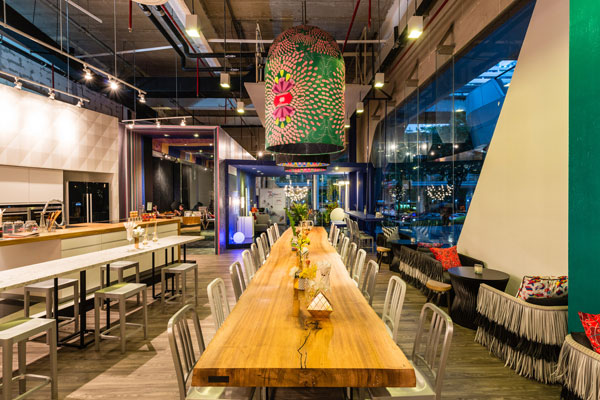 Jarken group of companies created a pop up project that is part cafe and part installation art fusing design and artisanship in fun and playful ways