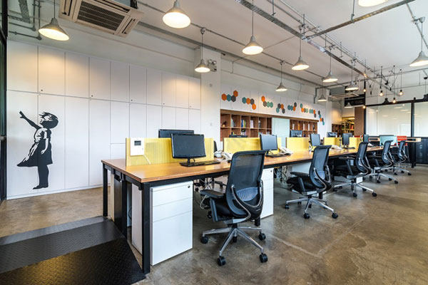 A designer s office indesignlive singapore daily for Commercial interior design firms nyc