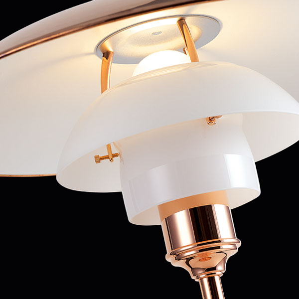 Lækker Louis Poulsen Launches Limited Edition PH3½-2½ Table Lamp KZ-27