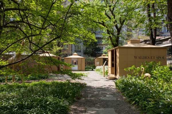 The Garden of Winiders installation Adriano Brusaferri