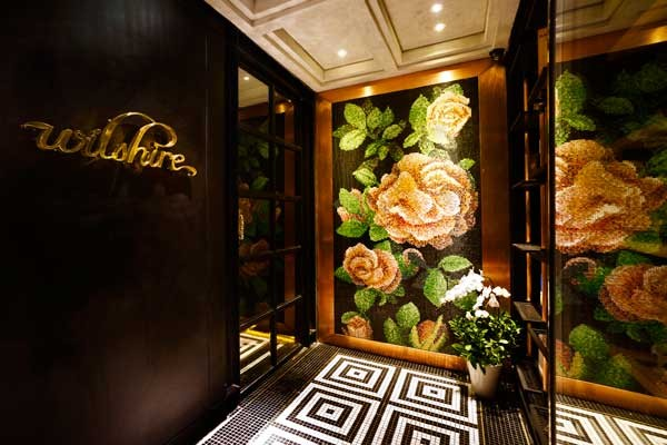 Wilshire Restaurant: A Play On Contrasts