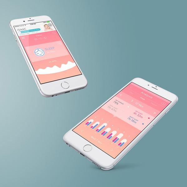 SafeToSleep_BabyMonitor_App_Screens