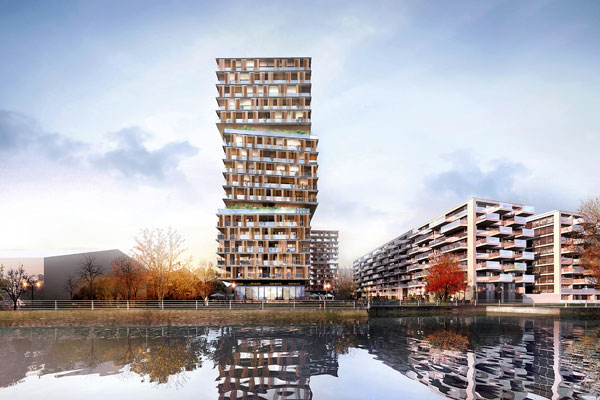 1_The-residences'-silhouette-is-created-by-the-subtle-tectonic-shift-of-3-building-boxes,-unifying-the-housing-block-into-a-single-twist