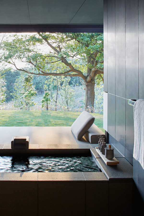 Contemporary Hot Spring Resort Imparts Multiple Japanese