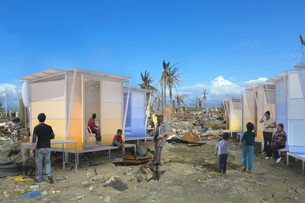 Portable Disaster Relief Shelters : Temporary housing for the asia pacific indesignlive