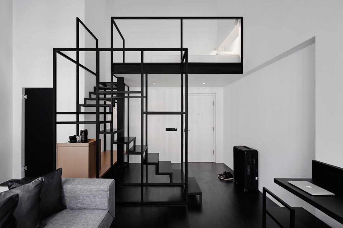 1 - Minimalist Hotel Design