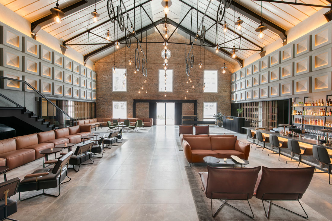 The warehouse hotel indesignlive singapore daily for Design boutique hotel toskana