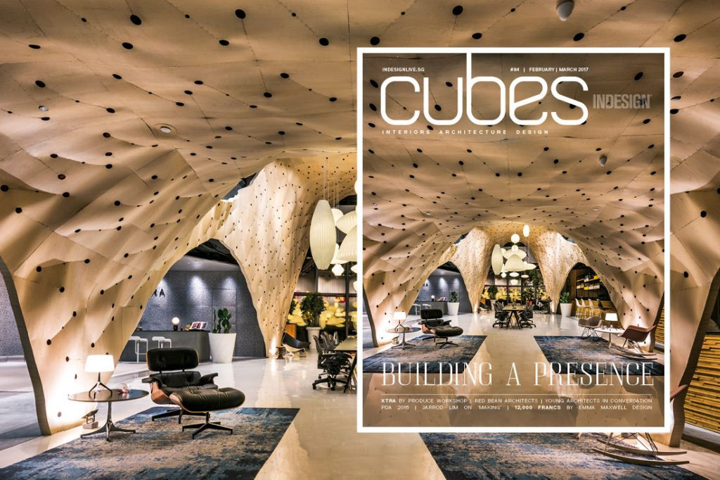 Cubes Indesign issue 84