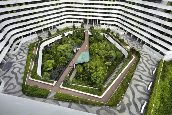 Waterway Terraces I and II designed by Aedas and Group8Asia won a Special Mention