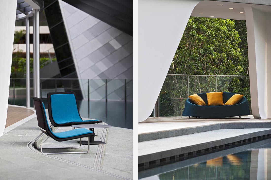 outdoor furniture for living in sky frames indesignlive